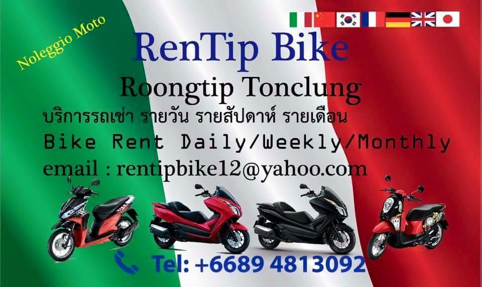NOLEGGIO MOTO RENT MOTORBIKE PATONG