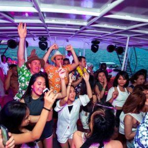 festa in barca phuket